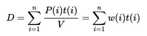 kötvény duration képlet