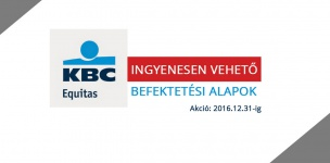 December 31-ig ingyenesen vehetsz befektetési alapokat a KBC-nél